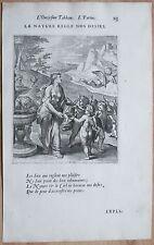Vaenius Emblem Folio La nature regle nos desirs  - 1672