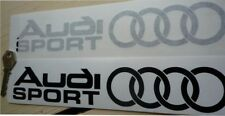 AUDI SPORT Car stickers 2 @ 500mm x 82mm QUATTRO GT ETC