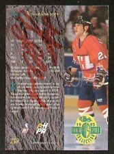 Sergi Krivokrassov signed autograph Classic Hockey Card