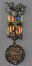 SPANISH AMERICAN WAR VETERAN  USWV Past Commanders Jewel Medal RARE!