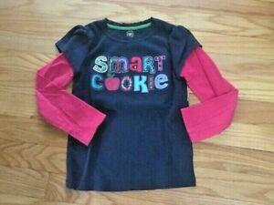 BABY GAP girls SMART COOKIE layer sleeve shirt, 5T