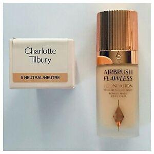 Charlotte Tilbury Airbrush Flawless Foundation 30 ml (Shade 5 Neutral) FULL SIZE