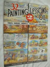 Painting Lessons in Oil No. 2 #167 Mona Mills Published by Walter T. Foster