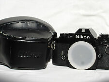 Nikon EM 35mm SLR Film Camera Body with case  SN6858362