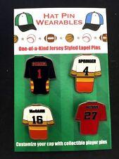 Houston Astros lapel pins-(4)-Jose Altuve & more Classic Stroh's Collectables