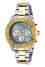 Invicta Women's 21613 Angel Two-Tone Formal Blue Quartz Stainless Steel Watch