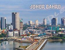 Malaysia - JOHOR BAHRU - travel souvenir FLEXIBLE fridge magnet
