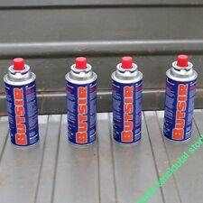4 CARTUCHO GAS BUTSIR Cartucho de gas butano B-250 Butsir BT