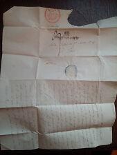 G236. FRANCE. LETTRE ANCIENNE DE 1824  DE MONTPELLIER A PARIS