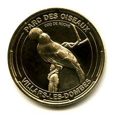01 VILLARS-LES-DOMBES Parc des Oiseaux 5, Coq de roche, 2014, Monnaie de Paris