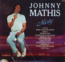 JOHNNY MATHIS Misty LP Vinyl Record Album 33rpm Hallmark 1971