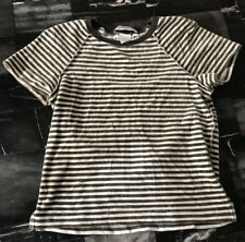 Sonia Rykiel Velvet Striped Shirt Size Small