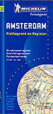 Michelin Amsterdam Street Map No. 36 (Michelin Maps & Atlases)-ExLibrary