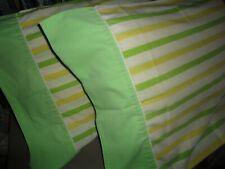 VINTAGE CANNON DARK MINT MINTY GREEN MUSLIN DOUBLE FULL FLAT SHEET 78 X 96