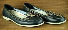 TIMBERLAND Blue Leather Boat Shoes Moccasins Flats Women's Sz. 8