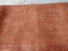 Authentic   Genuine Pure Crepe Silk  Saree In Earth Brown   Rust Shaded