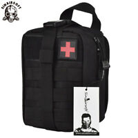 Tactical First Aid Kit Survival Kit Molle EMT Emergency Pouch Bag Medical Rescue
