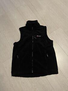 Berghaus Mens Black Fleece Gilet Size UK L