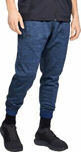 Under Armour Fleece Mens Joggers Blue Sweatpant Gym Sport Workout Training Pants