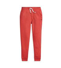 Polo Ralph Lauren Boys Cotton-Blend Joggers Red M (10-12) 0959