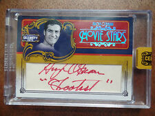 Hugh O'brian signed /40 2008 Donruss Celebrity Cuts autograph RED INK auto