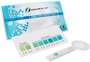 2 Vaginal Infections Bacterial Vaginosis BV Thrush Home pH Self Test applicators