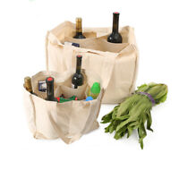 Tote Shopping Bags Reusable Multi-pocket Shopping Bags Cloth Beach Picnic Bag