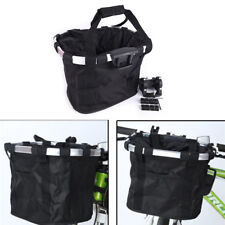 Bicycle Basket Bicycle Aluminum Alloy Bike Detachable Cycle Front Carrier Ba HV