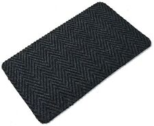 Blue Multi Directional Doormat Front Back Step Polypropylene Mat 80cm x 50cm