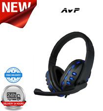 AvP G2 Headphone With Mic Blue