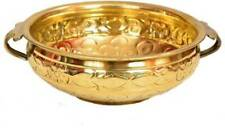 Handicrafts Pure Brass Hand Made Crafted Urli Bowl Home Decoration Party Gifts