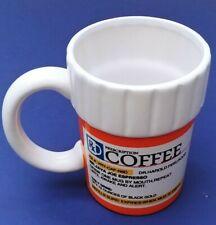 Prescription Mug Pill Bottle Coffee Cup Pharmacy 12 Oz RX Big Mouth
