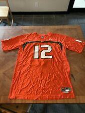 Miami Hurricanes football jersey Xl