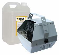 E-Lektron B600 Seifenblasenmaschine inkl. 5L Seifenblasenfluid Party Bubble