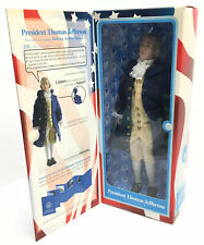 "Toypresidents President Thomas Jefferson 13"" Talking Action Figure WORKS"