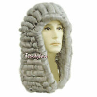 Baroque Curly Grey Male Lawyer Judge Colonial Deluxe Historical Cosplay Wig