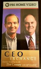 CEO Exchange Jeff Bezos - PBS Internet Shopping In The 21st Century VHS
