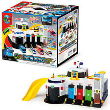 Tayo the Little Bus Emergency Rescue Center Play Set Toy Car Children Kids Gift