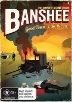 Banshee : Season 2 DVD : NEW