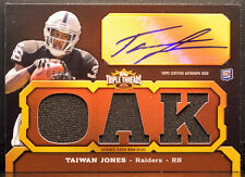 timeless design f3ac3 f5759 Rookie Taiwan Jones Football Trading Cards for sale | eBay