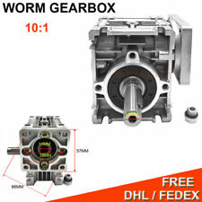Worm Gearbox Nmrv030 80 1 for Nema23 Stepper Motor Speed Reducer CNC Router