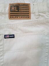 Polo Jeans Co Ralph Lauren Mother Mom Khaki Chino Straight Leg Pants Size 14
