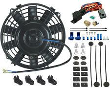 """6"""" INCH MINI ELECTRIC FAN SLIM OIL COOLER 3/8"""" THERMO SENSOR ATV SMALL ENGINE"""