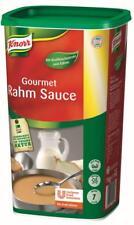 (1000g=22,95€) Knorr Gourmet Rahmsauce - 1000 Gramm - für 7 Liter Rahm Sauce