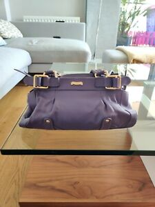 Modalu Bag Purple Leather