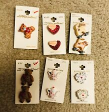 New listing Lot Of 6 + Buttons On Cards - Streamline