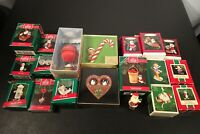 Vtg 1979-1993 Assorted Lot of Hallmark Ornaments & Keepsake Ornaments Pre-Owned