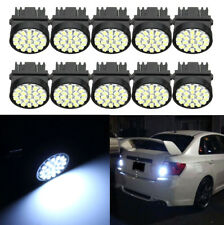 10pcs/set 3157 3057 T25 22SMD Car Brake Tail Stop Led Light Bulbs 12V Long Life