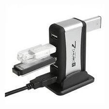 7 Port USB 2.0 Haute - Vitesse HUB alimenté +adaptateur AC Câble Flux