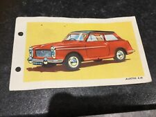 Spot On Triang Austin A40 Technical Data Card